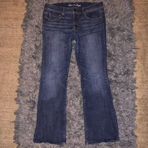 American Eagle size 12 origami boot jeans